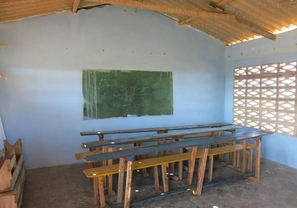 Rénovation d'une salle de classe (Guajira)